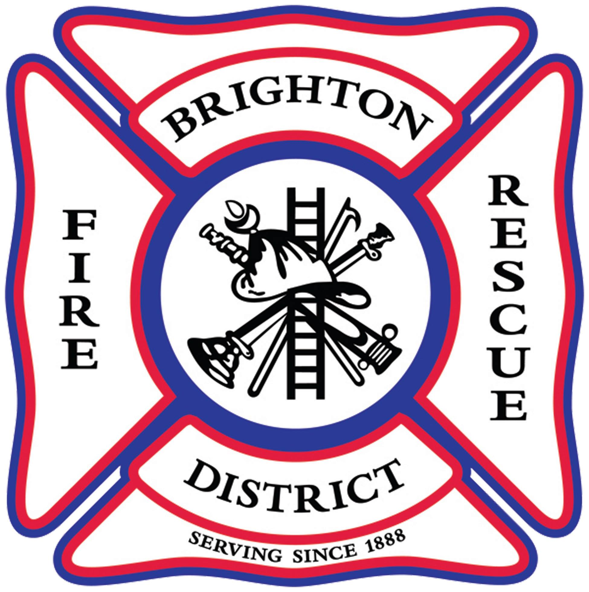 Brighton Fire Rescue District logo, Brighton, CO